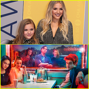 Lennon & Maisy Are Really Into Watching 'Riverdale' Right Now