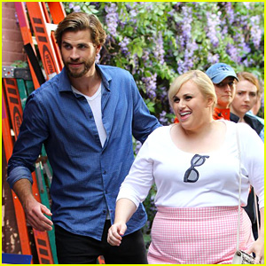 Liam Hemsworth Gets 'Romantic' with Rebel Wilson in NYC!