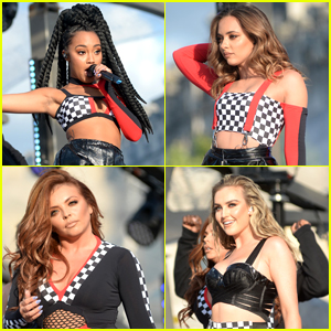 Little Mix Help Launch 'Salute' Campaign for England's Women's Soccer Team