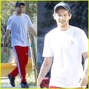 Louis Tomlinson Spends July 4th in LA While Girlfriend Eleanor Hangs in the Hamptons