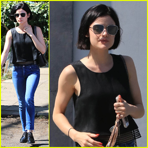 Lucy Hale Wraps Up Filming on New Movie 'Truth Or Dare'