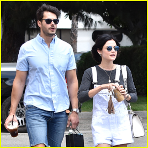Lucy Hale Hangs With 'Life Sentence' Co-Star Jayson Blair Before Leaving For Vancouver