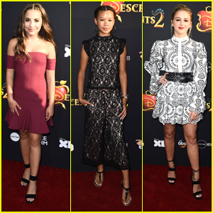 Mackenzie Ziegler & Storm Reid Hit Up 'Descendants 2' Premiere in Hollywood