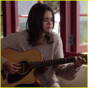Maia Mitchell Gets Nervous Showing Off Her Musical Talent on 'The Fosters' (Exclusive)