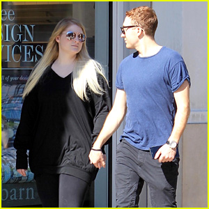 Meghan Trainor & Daryl Sabara Hold Hands During Fourth of July Weekend
