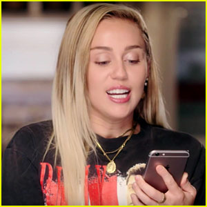 Miley Cyrus Wishes Little Sis Noah Would Text Her Back!
