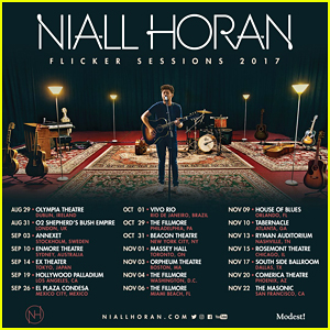 Niall Horan Announces 'Flicker Sessions' Tour - See The Dates Here!