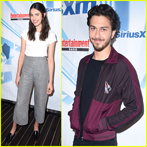 Margaret Qualley & Nat Wolff Promote New Netflix Movie 'Death Note' at Comic-Con