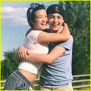 Andi Mack's Peyton Elizabeth Lee & Asher Angel Reunite in Utah
