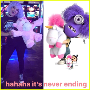 Ellington Ratliff Turned Rydel Lynch Into A 'Despicable Me' Meme