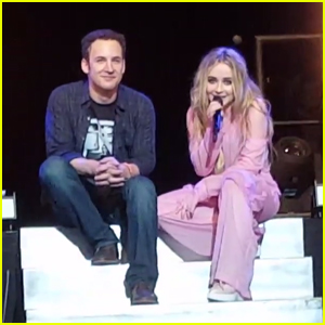 Sabrina Carpenter Sings On Stage With 'Girl Meets World' Co-Star Ben Savage!