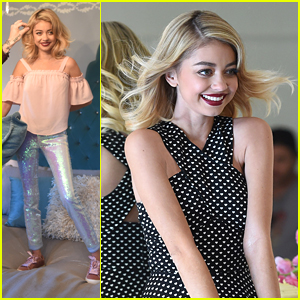 Sarah Hyland Rocks Mermaid Jeans For Candie's New Fashion Campaign!