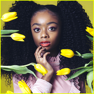 Skai Jackson Was Really Nervous For Her Speech at Mega Kingfest