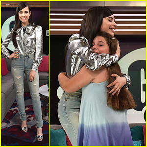 Sofia Carson Makes Young Fan's Dream Come True During Press Trip To Miami