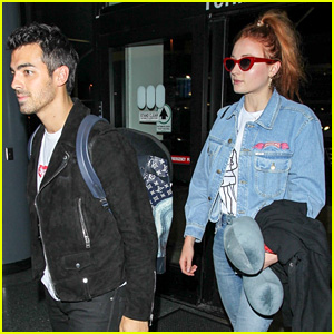 Joe Jonas & Sophie Turner Have the Same In-Flight Essentials
