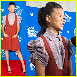 Storm Reid Promotes New Film 'A Wrinkle in Time' at D23 Expo