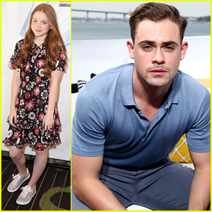 New 'Strangers Things' Stars Dacre Montgomery & Sadie Sink Step Out at Comic-Con!