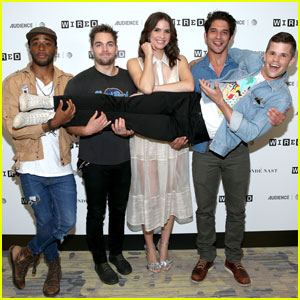 Tyler Posey & the 'Teen Wolf' Take Comic-Con 2017 By Storm!