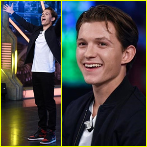 Tom Holland Busts a Move (or 10) While Promoting 'Spider-Man' on Spanish TV Show