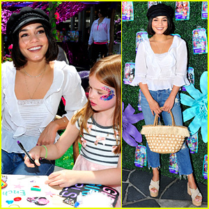 Vanessa Hudgens Gets Her Arts & Crafts On at Enchantimals Party