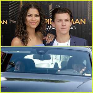 Tom Holland & Zendaya Fuel Romance Rumors in New Photos!