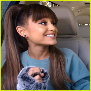 Ariana Grande Belts Out 'Suddenly Seymour' in 'Carpool Karaoke' Teaser - Watch Now!