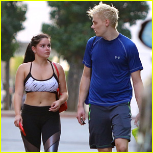 Ariel Winter & Levi Meaden Hit the Gym After Lake Tahoe Vacation