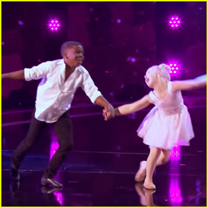Dancers Aryton & Paige Re-Create 'Time of My Life' Dance from 'Dirty Dancing' For AGT - Watch!