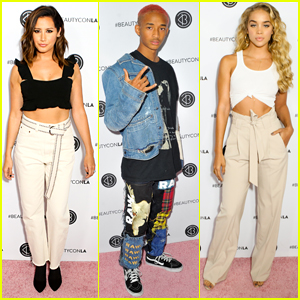 Ashley Tisdale, Jaden Smith, & Jasmine Sanders Spend the Weekend at Beautycon!