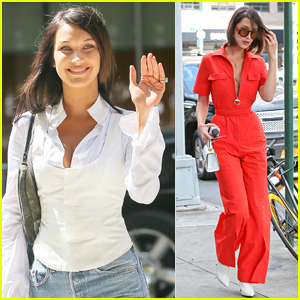 Bella Hadid Goes Business Chic in NYC