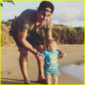Carlos PenaVega's Son Ocean Took His First Steps - Watch The Vid!