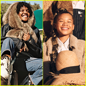 China Anne McClain & Storm Reid Share The Spotlight in Teen Vogue's Future Icons Feature