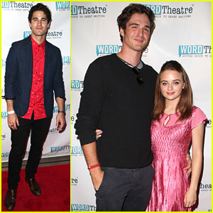 Darren Criss & Joey King Read at WordTheatre's In The Cosmos