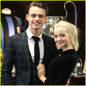 Dove Cameron Dances With Thomas Doherty's Dog (Video)