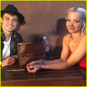 Dove Cameron Reunited With Boyfriend Thomas Doherty in Romania & Our Hearts Are Racing