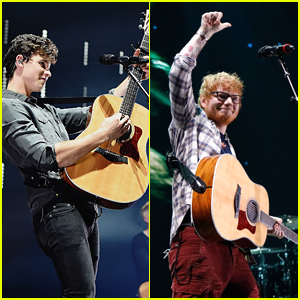 Ed Sheeran Crashed Shawn Mendes' Concert Last Night (Video)