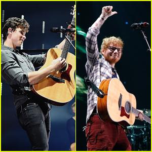 Ed Sheeran Crashed Shawn Mendes' Concert Last Night (Video)