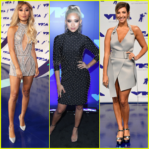 TRL's Eva Gutowski, Amy Pham, Gabbie Hanna & More Hit Up MTV VMAs 2017
