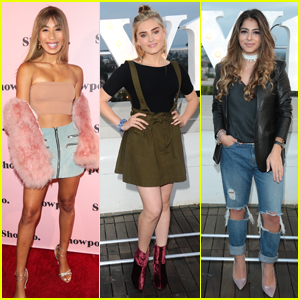 Eva Gutowski Steps Out at Showpo Fashion Event with Laura Pieri & Meg Donnelly