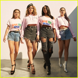 Fifth Harmony Model VH1's Save The Music Exclusive Collection