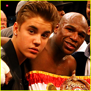 Justin Bieber Doesn't Think Mayweather Can Beat McGregor