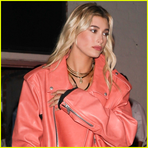 Hailey Baldwin Gets Peachy at Sofia Richie's Birthday Party!