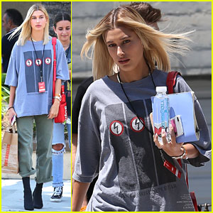 Hailey Baldwin Had an 'Awesome Day' at Zoe Church Conference
