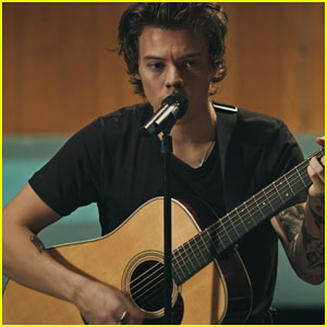 Harry Styles Debuts Live Studio 'Two Ghosts' Video - Watch Here!