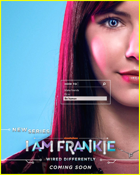 Alex Hook Gets Technical On First Poster For Nickelodeon's 'I Am Frankie'
