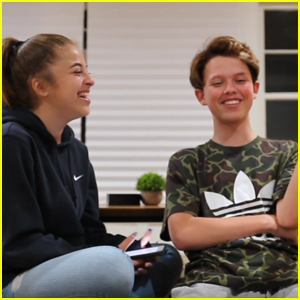 Baby Ariel Helps Jacob Sartorius Read Mean Comments About Himself (Video)