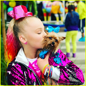 JoJo Siwa Wears The Brightest Colors Ever In Her 'Hold The Drama' Video