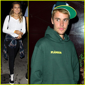 Justin Bieber Joins Tori Kelly for Fun Night Out!