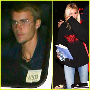 Justin Bieber & Ex Hailey Baldwin Attend the Same Late-Night Church Service