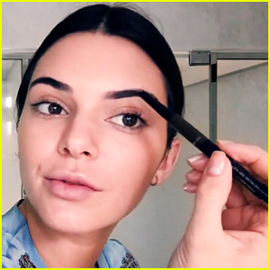 Kendall Jenner Once Plucked Off All of Her Eyebrows!
